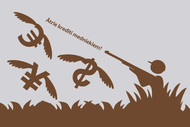 Ātrie kredīti medniekiem